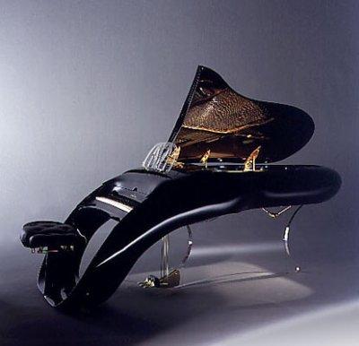 Pianos extraños, llamativos, exóticos y... caros