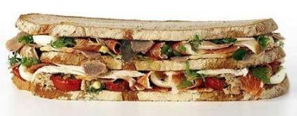 El Von Essen Platinum Club Sandwich
