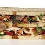 De los sandwichs, el más caro!